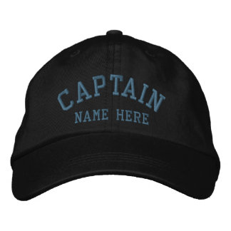 Captain - Sailor customizable Embroidered Cap