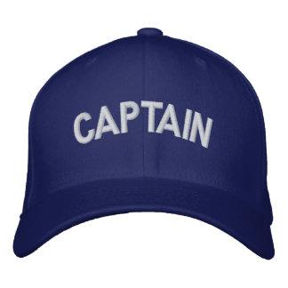 Captain text baseball cap
