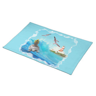 Captain Turtle American MoJo Placemats