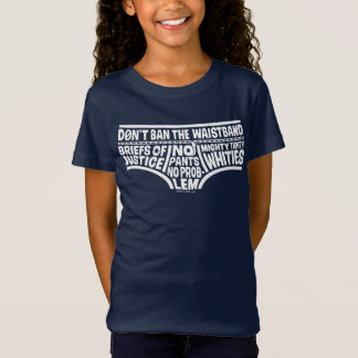 Captain Underpants | Typography Tighty Whities T-Shirt