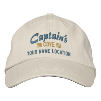 Captain's COVE Personalize it Embroidered cap