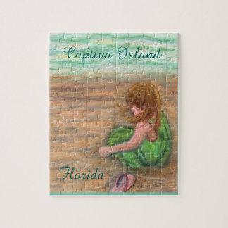 Captiva Island Florida Art Jigsaw Puzzle