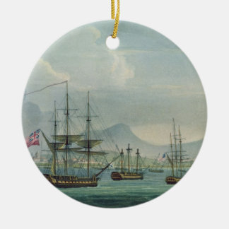 Capture of the Maria Riggersbergen on October 18th Christmas Ornament