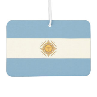 Car Air Fresheners with Flag of Argentina