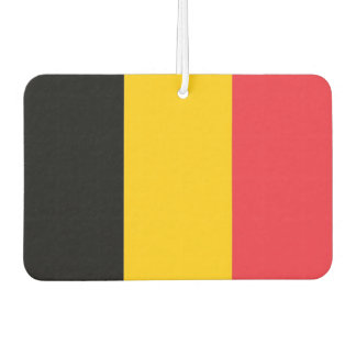 Car Air Fresheners with Flag of Belgium