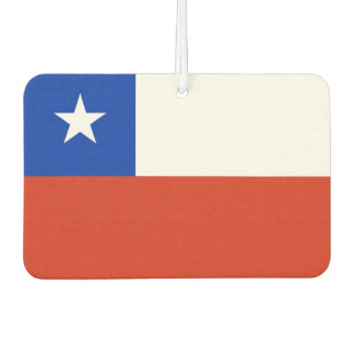 Car Air Fresheners with Flag of Chile