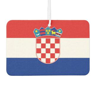 Car Air Fresheners with Flag of Croatia