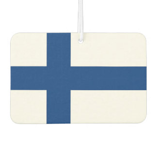 Car Air Fresheners with Flag of Finland