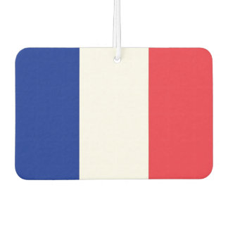 Car Air Fresheners with Flag of France