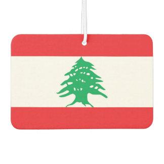 Car Air Fresheners with Flag of Lebanon