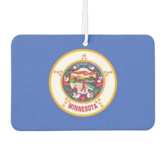 Car Air Fresheners with Flag of Minnesota, USA