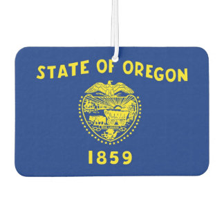 Car Air Fresheners with Flag of Oregon