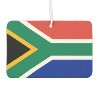 Car Air Fresheners with Flag of South Africa