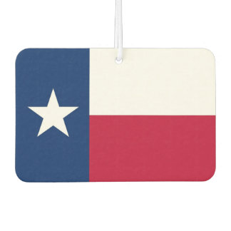 Car Air Fresheners with Flag of Texas
