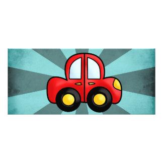 Car Cartoon Custom Rack Cards