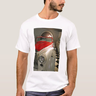 Car collection in The Liberace Foundation and T-Shirt