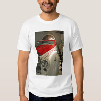 Car collection in The Liberace Foundation and Tee Shirt