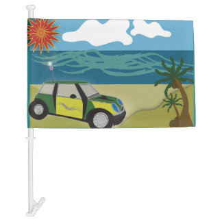 Car Flag MINI VACATION