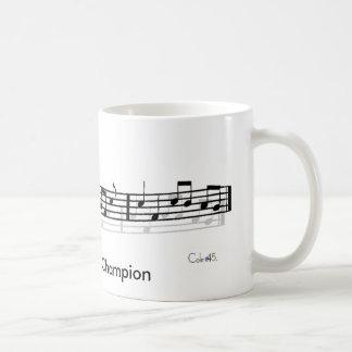 Car Karaoke Champion Mug