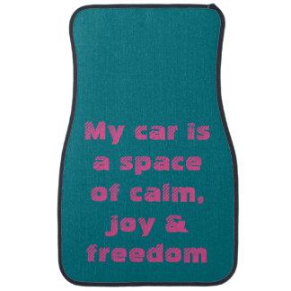 Car Mat: Mindful Affirmations Car Mat