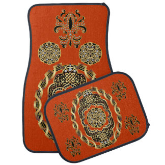 Car Mats Mardi Gras IMPORTANT Read About Design