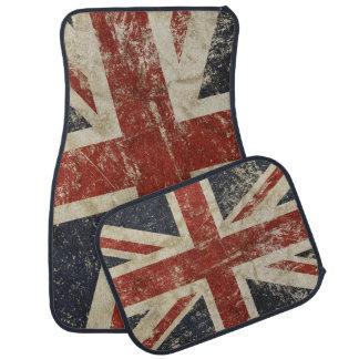 Car Mats print with grange flag of Britain