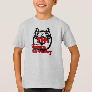Car Racing 7th Birthday T-Shirt