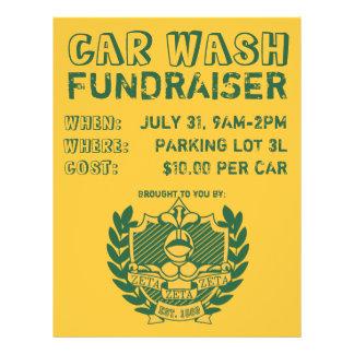 Car Wash Fundraiser Flyer
