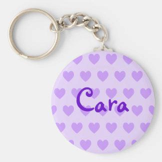 Cara in Purple Key Ring