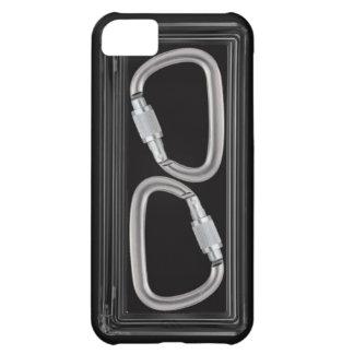 Carabiners black box iPhone 5C case