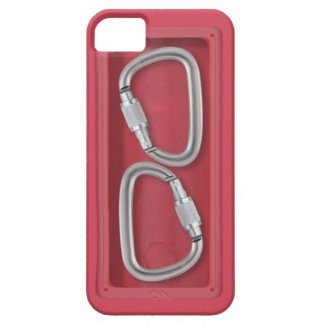 Carabiners red box case for the iPhone 5