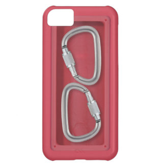 Carabiners red box iPhone 5C case