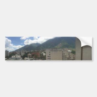 Caracas calcomania bumper sticker