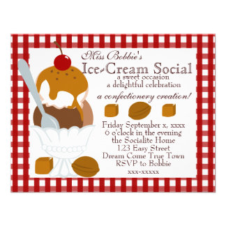 Caramel Covered Ice-Cream Announcements
