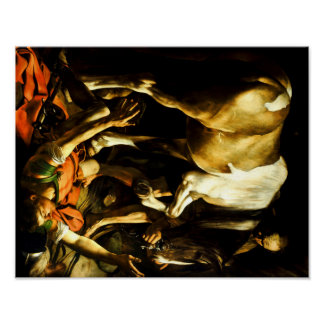 Caravaggio The Conversion on the Way to Damascus Poster