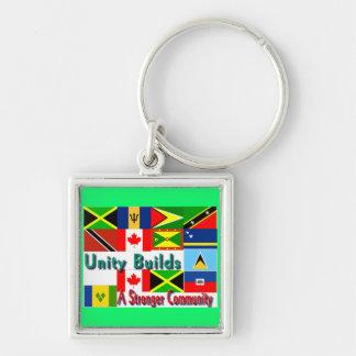 Carbbean-canada unity key ring