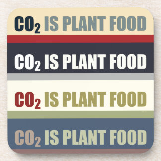 Carbon Dioxide Is Plant Food Coaster