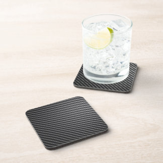 Carbon Fiber Pattern Drink Coaster