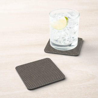 Carbon Fiber Pattern (Faux) Coaster