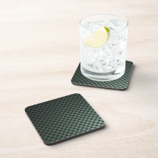 Carbon Fiber Patterned Coaster
