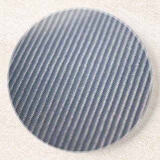 Carbon Fiber Photo Textured Coaster