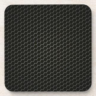Carbon-fiber-reinforced polymer coaster