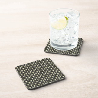 Carbon Fiber Textured Coaster