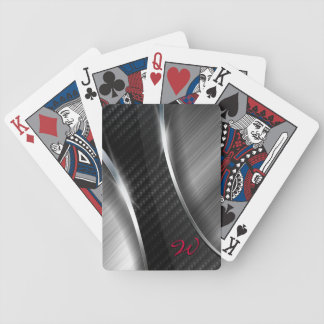 Carbon Fibre 3A Playing Cards. Poker Deck