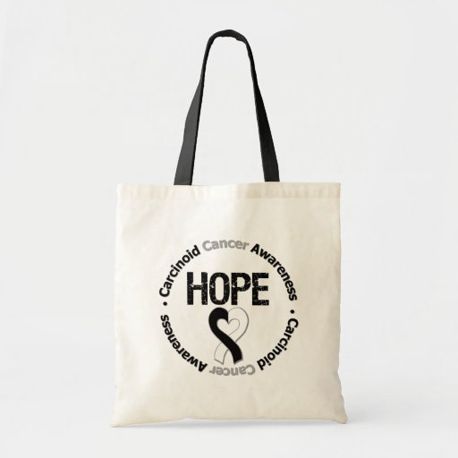 Carcinoid Cancer HOPE Tote Bags
