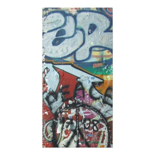 card berlin wall peace photo cards