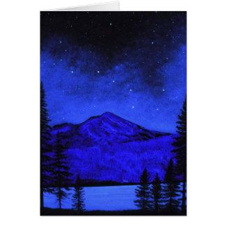 Card Mount Shasta In Starlight