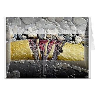 Card painted Kelp