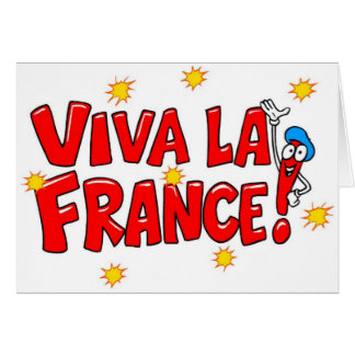 Card- Viva La France!-All Occasion Card