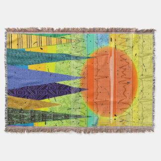 Cardiac Rhythm Art Blanket